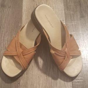 Rockport Leather Sandals Size 5 1/2 M